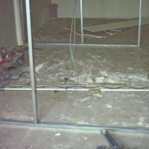 Construction, cloisons creuses