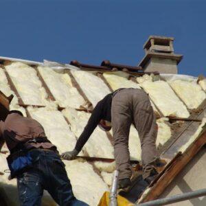 Rénovation couverture tuiles PV13 brun