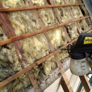 Traitement des charpentes et boiseries des toitures